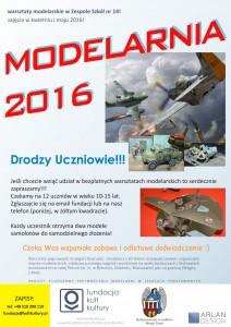Modelarnia 2016 - warsztaty modelarskie